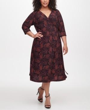 Tommy Hilfiger Plus Size Vilette Paisley-Print Dress