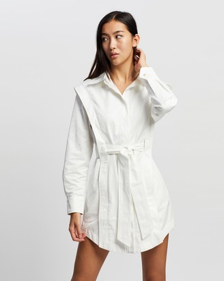 Mossman - Women's White Mini Dresses - The Starstruck Dress - Size 8 at The Iconic