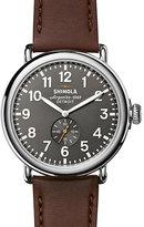 Shinola Runwell 47 Men's Grey Stainless Steel Strap Watch