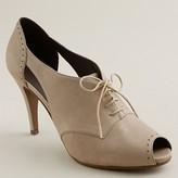 Keaton cutout high-heel oxfords