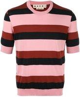 Marni striped short sleeve jumper
