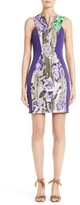 Versace Women's Print Sheath Dress
