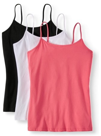 e72f2808e Women's Cami Tank Top, 3 Pack Bundle
