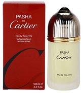 Cartier Pasha De for Men Eau De toilette Spray, 3.3-Ounce