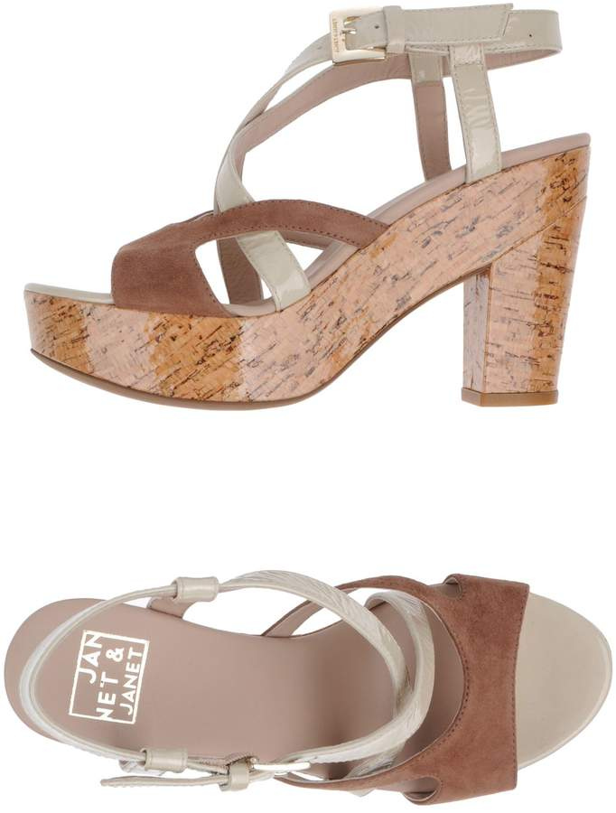 Janet & Janet Platform sandals - Item 44505929