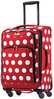 American Tourister Dotted Graphic Softside Spinner- 21 in.