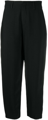 FEDERICA TOSI High Waisted Cropped Trousers