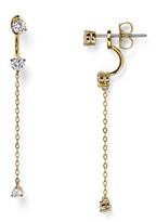 Nadri Salome Front-Back Earrings