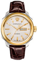 Versace Dylos Automatic Day & Date Watch, 42mm