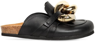 J.W.Anderson 10mm Embellished Leather Mules