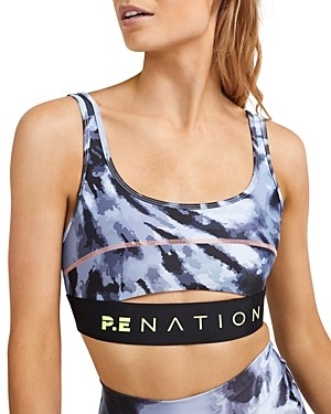 P.E Nation Top Spin Sports Bra