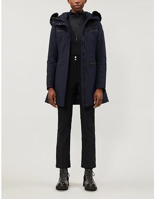 Fusalp Jeanne hood faux fur-trimmed shell jacket