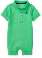 Ralph Lauren Boy Cotton Interlock Polo Shortall
