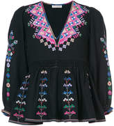 Ulla Johnson embroidered V-neck top