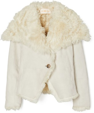 Tory Burch Shearling Jacket