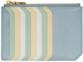 Miu Miu Blue Multi Card Zip Pouch