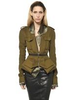 Haider Ackermann Virgin Wool Cashmere Light Cloth Jacket