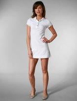 Project E Classic Polo Dress in White