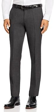 HUGO BOSS Hesten Birdseye Extra Slim Fit Suit Pants