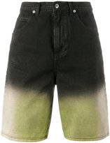 J.W.Anderson shaded denim shorts - men - Cotton - 46