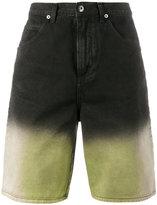 J.W.Anderson shaded denim shorts