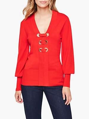 Damsel in a Dress Jetta Knit Jumper, Red