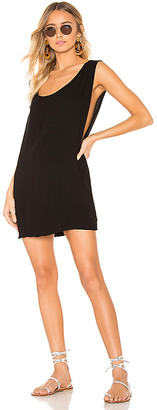 Indah Pella Plunge Mini Dress