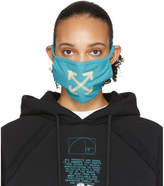 Off-White Off White Blue Arrows Face Mask