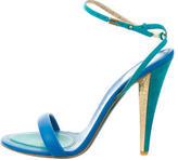 Salvatore Ferragamo Multistrap Leather Sandals