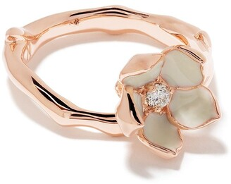 Shaun Leane Cherry Blossom diamond flower ring