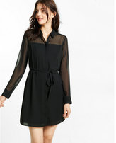 Express mini shirt dress