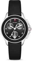 Michele Cape Topaz Studded Chronograph Watch, 34mm