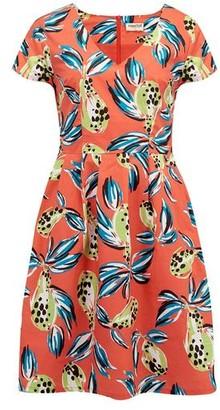 Sugarhill Boutique Sophie Tropical Punch Dress Orange Multi - 10