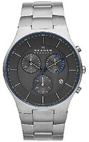 Skagen Men's Titanium Black Dial Bracelet Watch