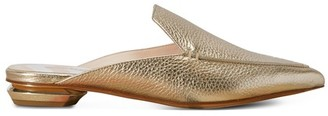 Nicholas Kirkwood Beya Metallic Leather Mules