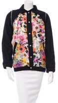 Roseanna Floral-Paneled Wool Jacket w/ Tags