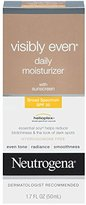 Neutrogena Visibly Even Daily Moisturizer With Broad Spectrum SPF 30 Sunscreen, 1.7 Fl. Oz