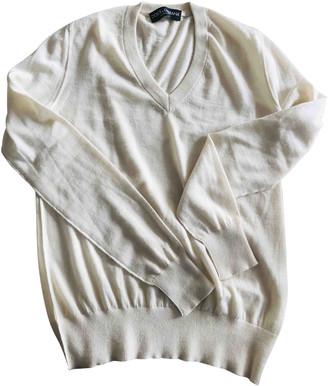 Dolce & Gabbana White Cashmere Knitwear