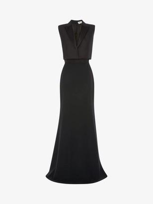 Alexander McQueen Trompe L'Oeil Evening Dress