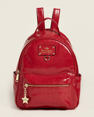 Juicy Couture Cherry Ever After Patent Backpack