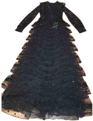 Valentino Black Glitter Dresses
