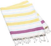 Turkish T Meltem Towel, Yellow/Purple
