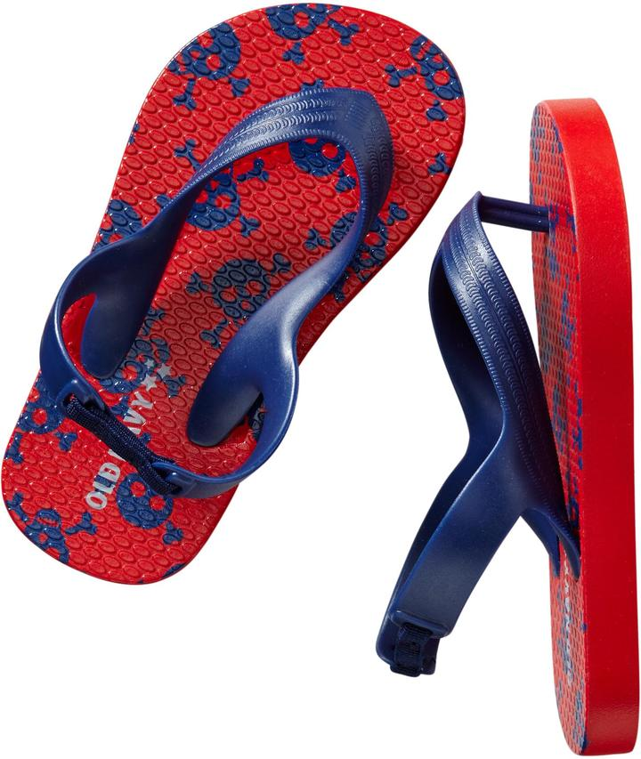 Old Navy Patterned Flip-Flops for Baby