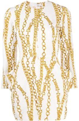 Roseanna Rossmoss chainlink print dress