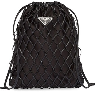 Prada Net Crossbody Bag