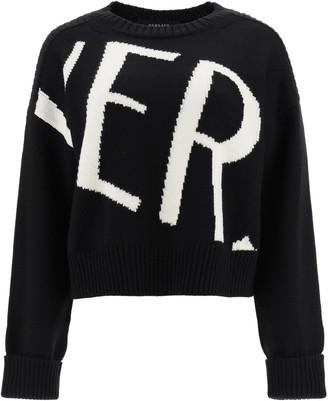 Versace Maxi Logo Sweater
