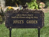 The Well Appointed House Personalized Butterfly Poem Garden Plaque-Available in Four Different Finishes