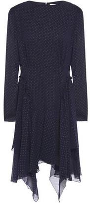 See by Chloe Asymmetric Embellished Georgette Dress