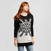 Women's Holiday Patterned Pullover Snow Flake - Mossimo Supply Co.(Juniors')