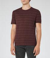 Reiss Silves Mottled Stripe T-Shirt